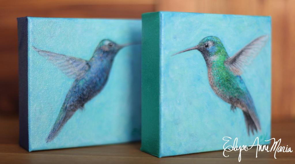 Hummingbirdblueandgreen