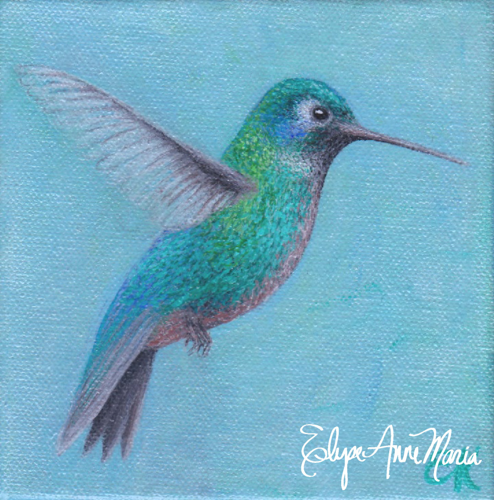 Blue-greenhummingbird