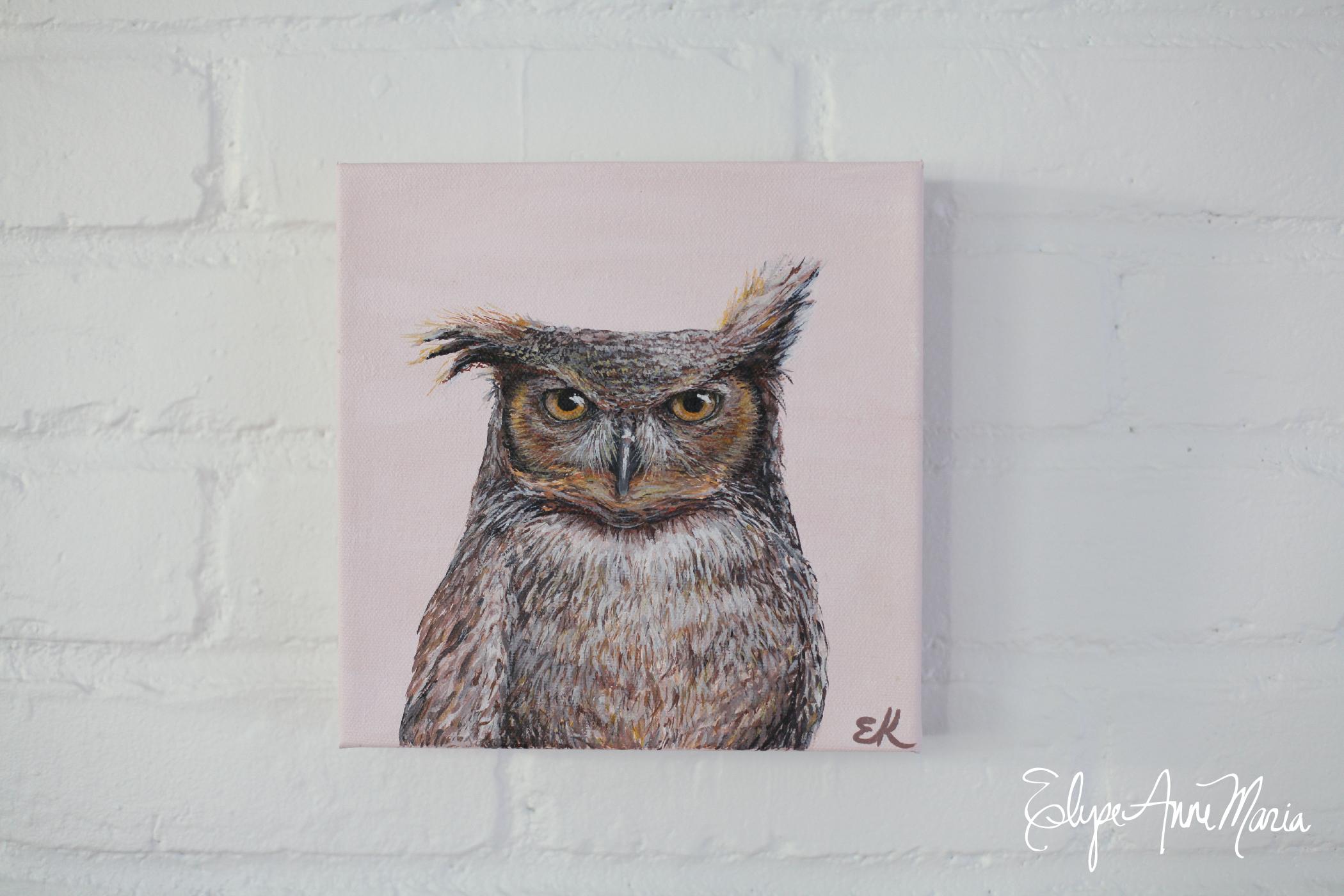 Owl8x8